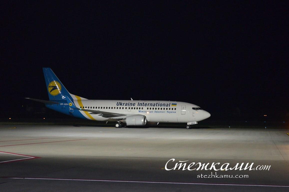 Українські авіалінії: група Scorpions прилетіла до Львова.