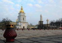 Фото. Михайлівська площа