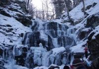 Водоспад Шипіт зимою