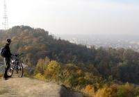 краєвид, що відкривається з вершини Лисої гори