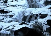 Водоспад Шипіт зимовий