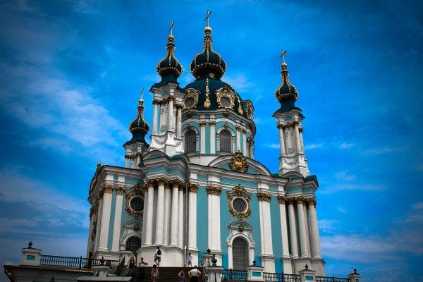 Андріївська церква: Киев, Андреевский спуск, 23 - Стежками України! |  stezhkamu.com